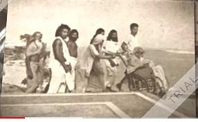 सत्संग और ध्यान क्या है ? पर चर्चा करते -Sadguru Maharishi mehi. कुप्पाघाट के चबूतरा पर गुरुदेव