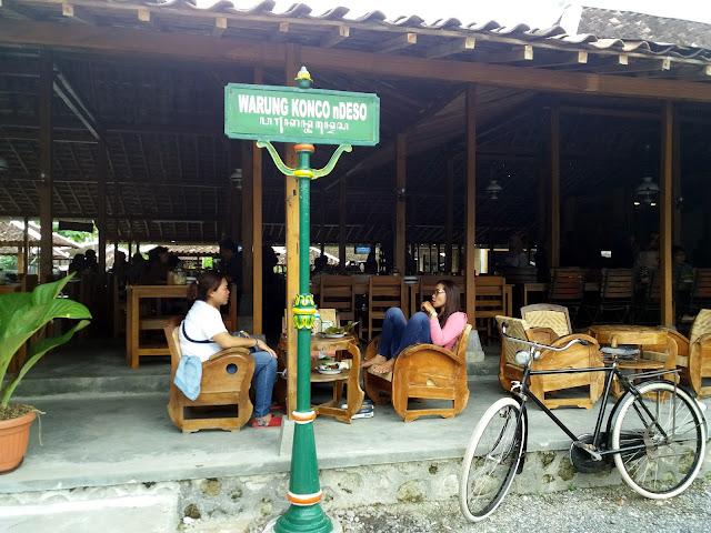 wisata kuliner warung konco desa yogyakarta