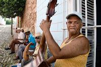Músicos en Trinidad