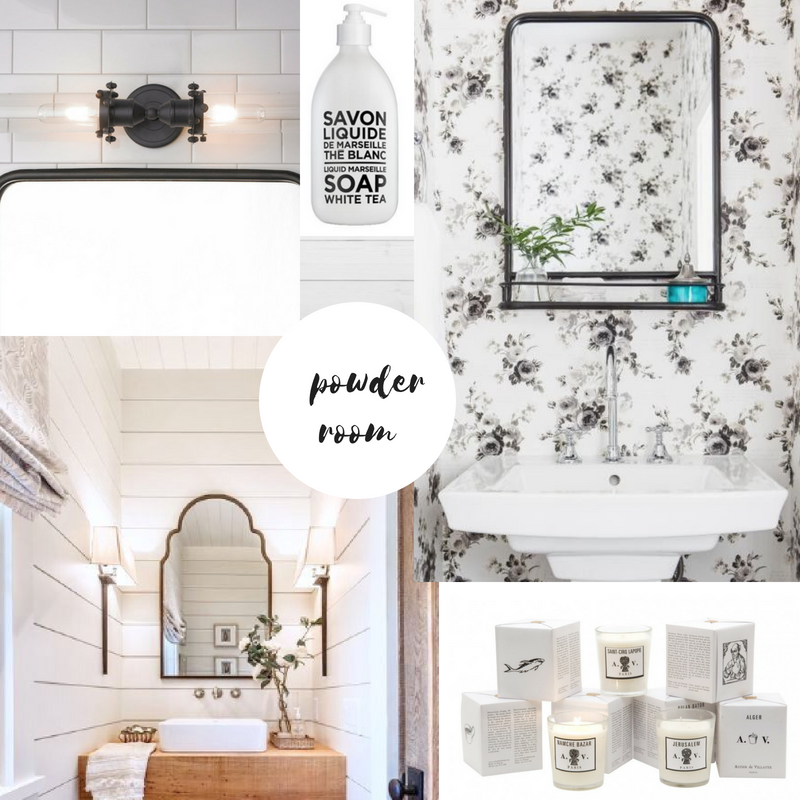 Powder Room Planning