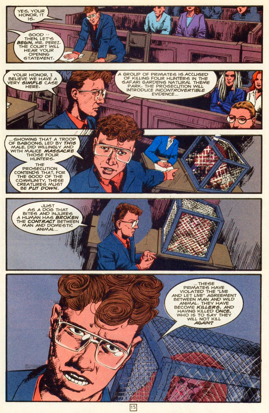 Read online Animal Man (1988) comic -  Issue #83 - 16
