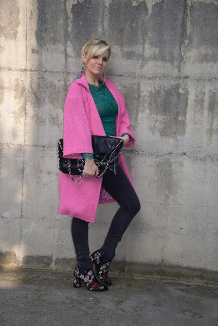 outfit rosa come abbinare il rosa abbinamenti rosa mariafelicia magno fashion blogger colorblock by felym fashion blogger italiane blog di moda outfit primaverili outfit marzo 2017