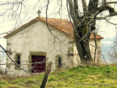La chapelle sainte Marcelle de Chauriat, Puy-de-Dôme.