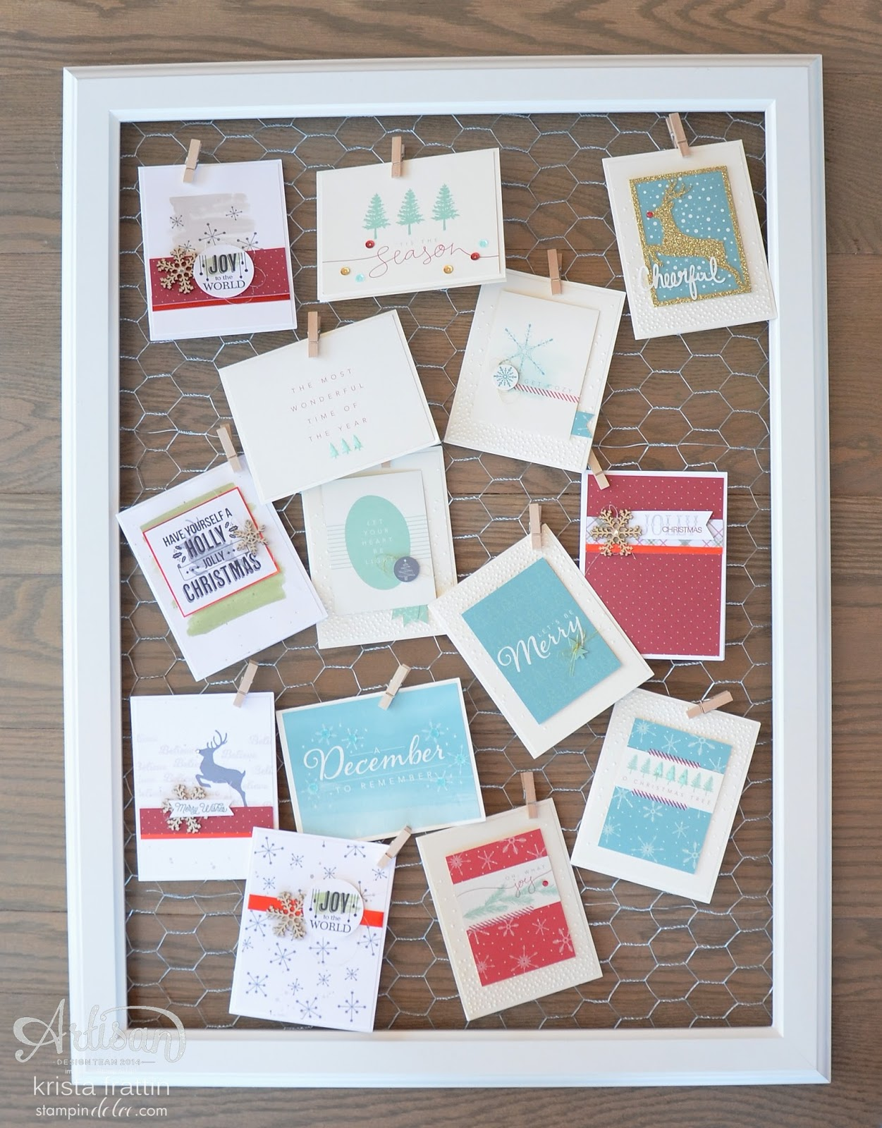 Stampin Dolce 12 Days Of Christams Day 5 Diy Shabby Chic Frame