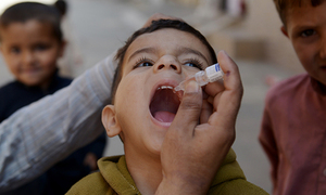 No polio case reported in Khyber Agency in two years