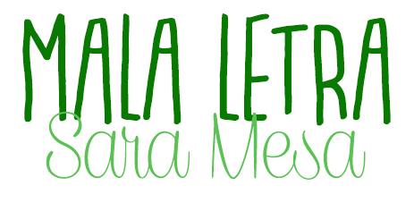 Mala letra, Sara Mesa.