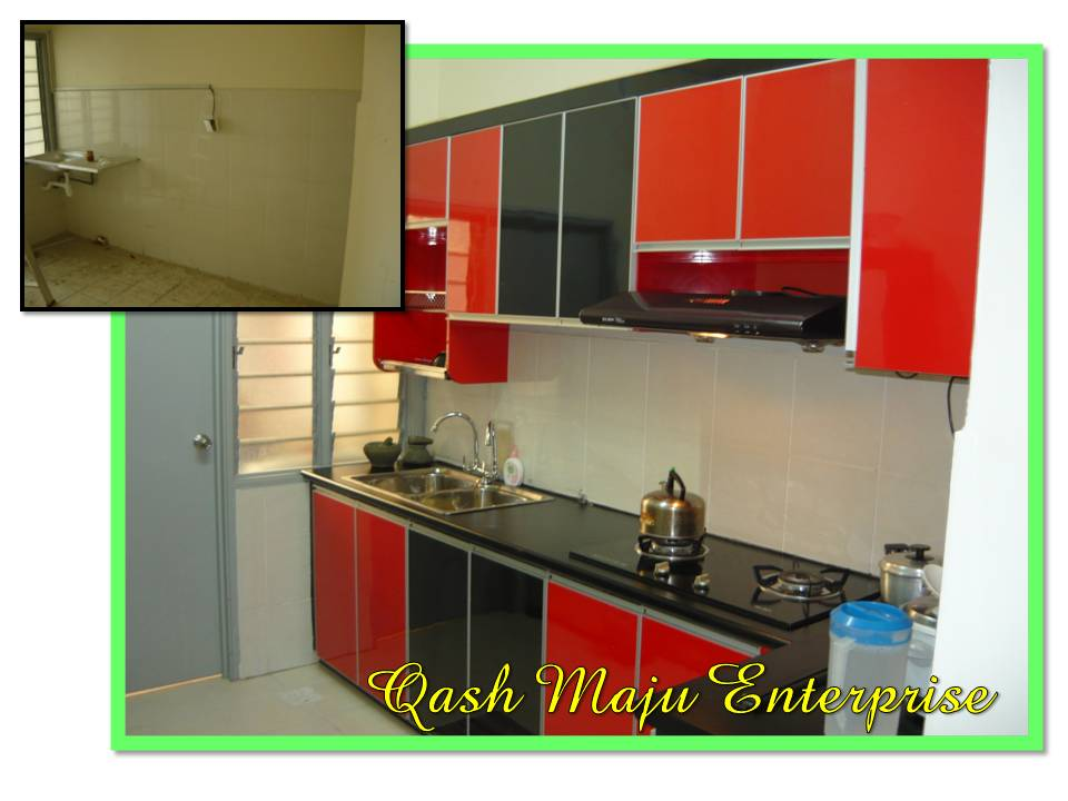 Kitchen Cabinet Kabinet Dapur Renovations In Johor Siling Tv Di Larkin