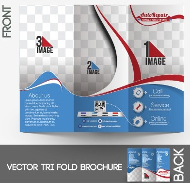 Business flyer and cover brochure design vector Free vector