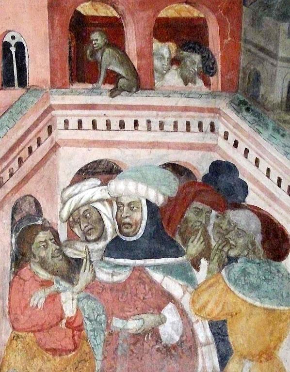 Doidos briguentos, capela de La Manta, 1420