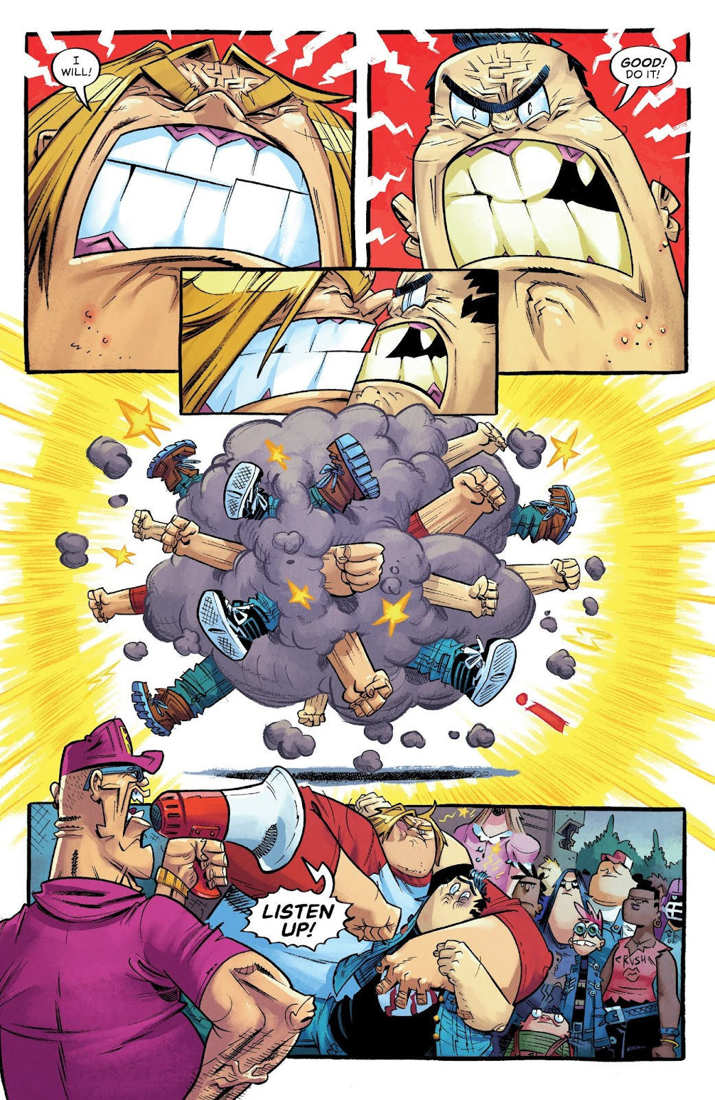 Read online Bully Wars comic -  Issue #3 - 15