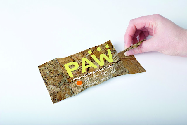 PAW Granola Bar Designed By Ali Neilly