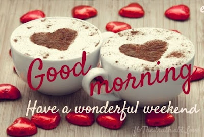 good morning two cups of coffee heart in it for whatsapp