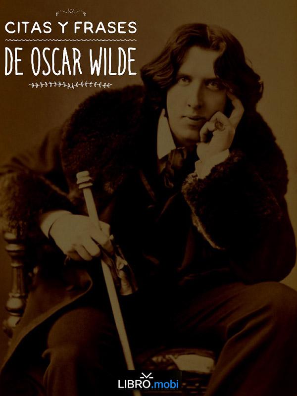 Portada de eBook en PDF con 30 citas de Oscar Wilde