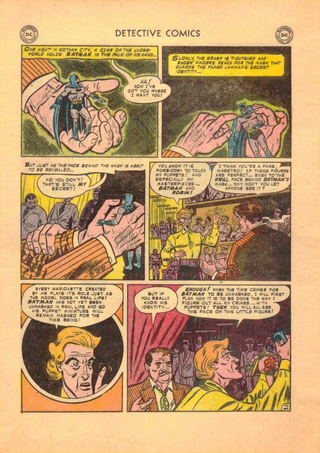 Read online Detective Comics (1937) comic -  Issue #182 - 3