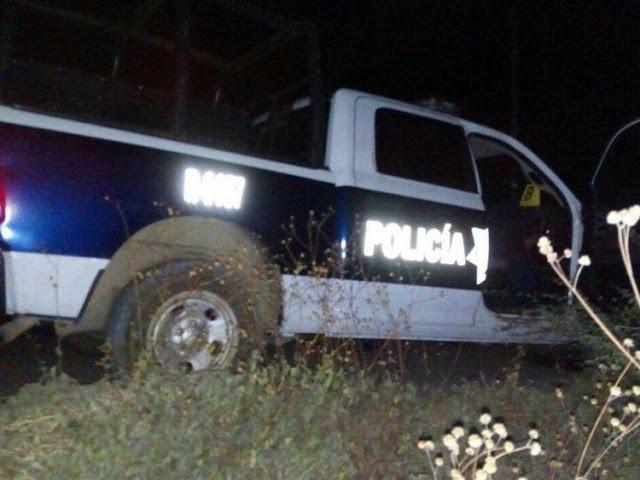 """En patrulla """"clonada"""" sicarios se les emparejan y ejecutan a supuestos policías"""