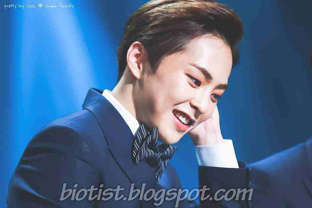 Cute Latest Picture of EXO Xiumin