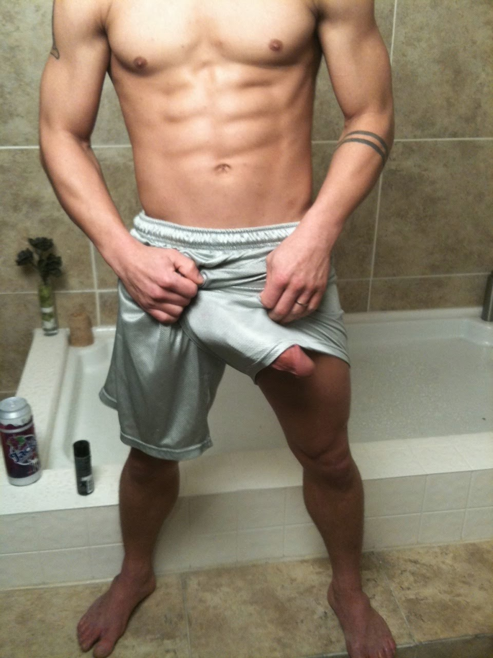 Male with small penis masturbating 8