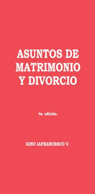 Gino Iafrancesco V.-Asuntos De Matrimonio y Divorcio-