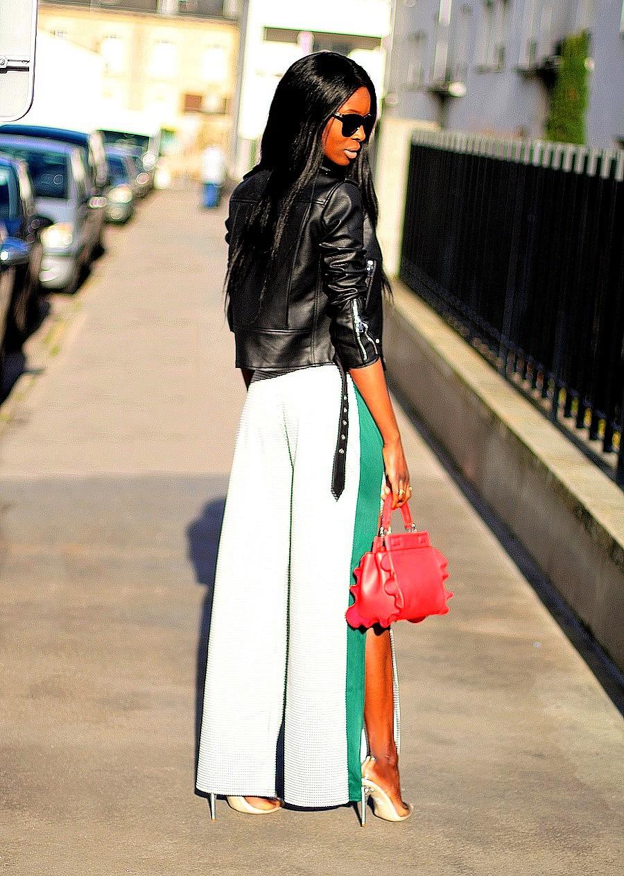 inspiration-look-rock-casual-pantalon-large-imprime-pied-de-poule