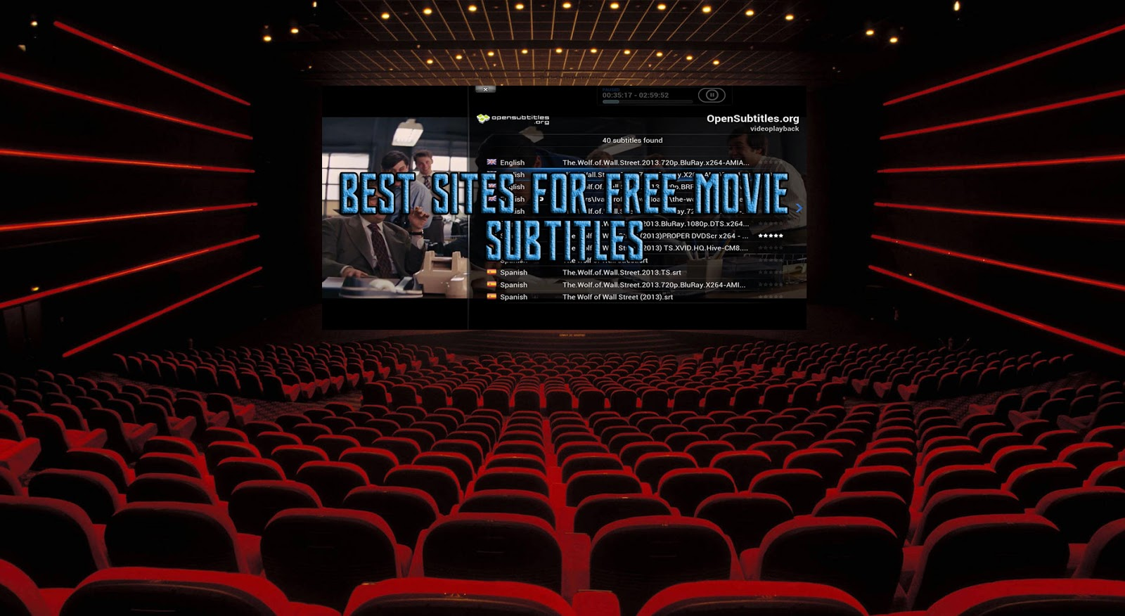 free movies with subtitles