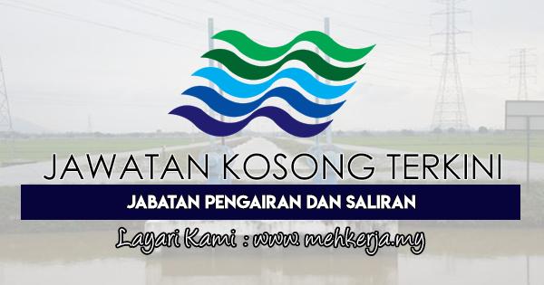 Jawatan Kosong Terkini 2018 di Jabatan Pengairan Dan Saliran Negeri Kedah Darul Aman
