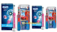 Logo ''Vinci un sorriso per mamma e bimbo'': vinci 100 coppie di spazzolini elettrici Oral B
