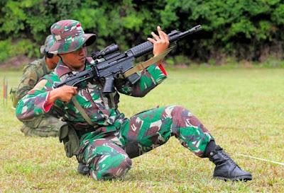 TNI AD Sabet Bersih Medali Emas Hari Pertama AARM