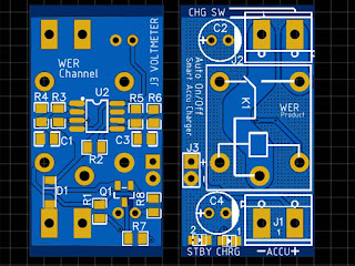PCB Automatic 12V Battery Charger Circuit Schematic