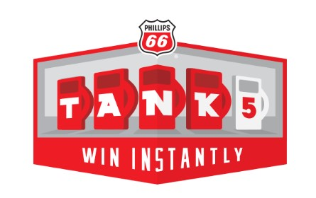 Simply fill up at your local Phillips 66, Conoco or 76 Gas Station for a chance to instantly win $5, $10 or $20 in FREE GASOLINE on a gift card!
