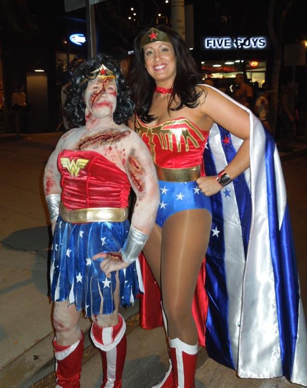 Halloween Zombie Wonder Woman costume
