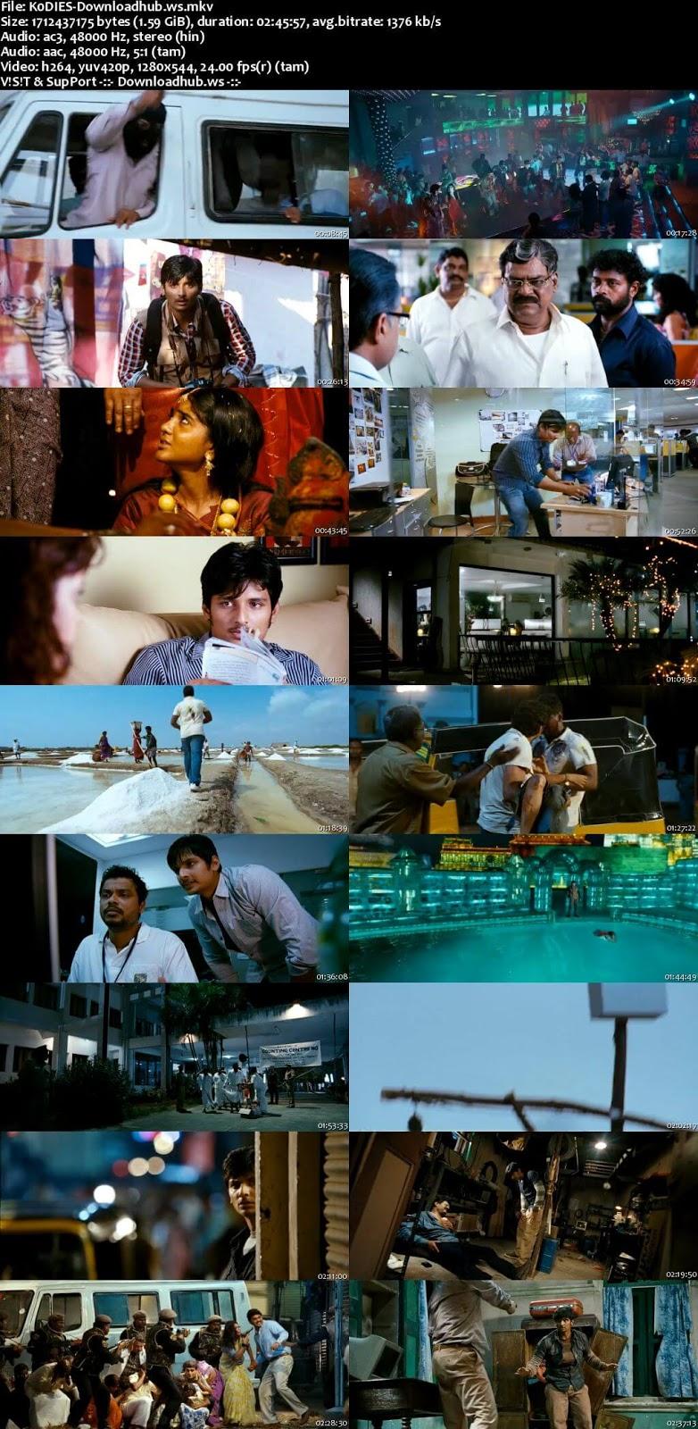 Ko 2011 UNCUT Hindi Dual Audio 720p BluRay Free Download