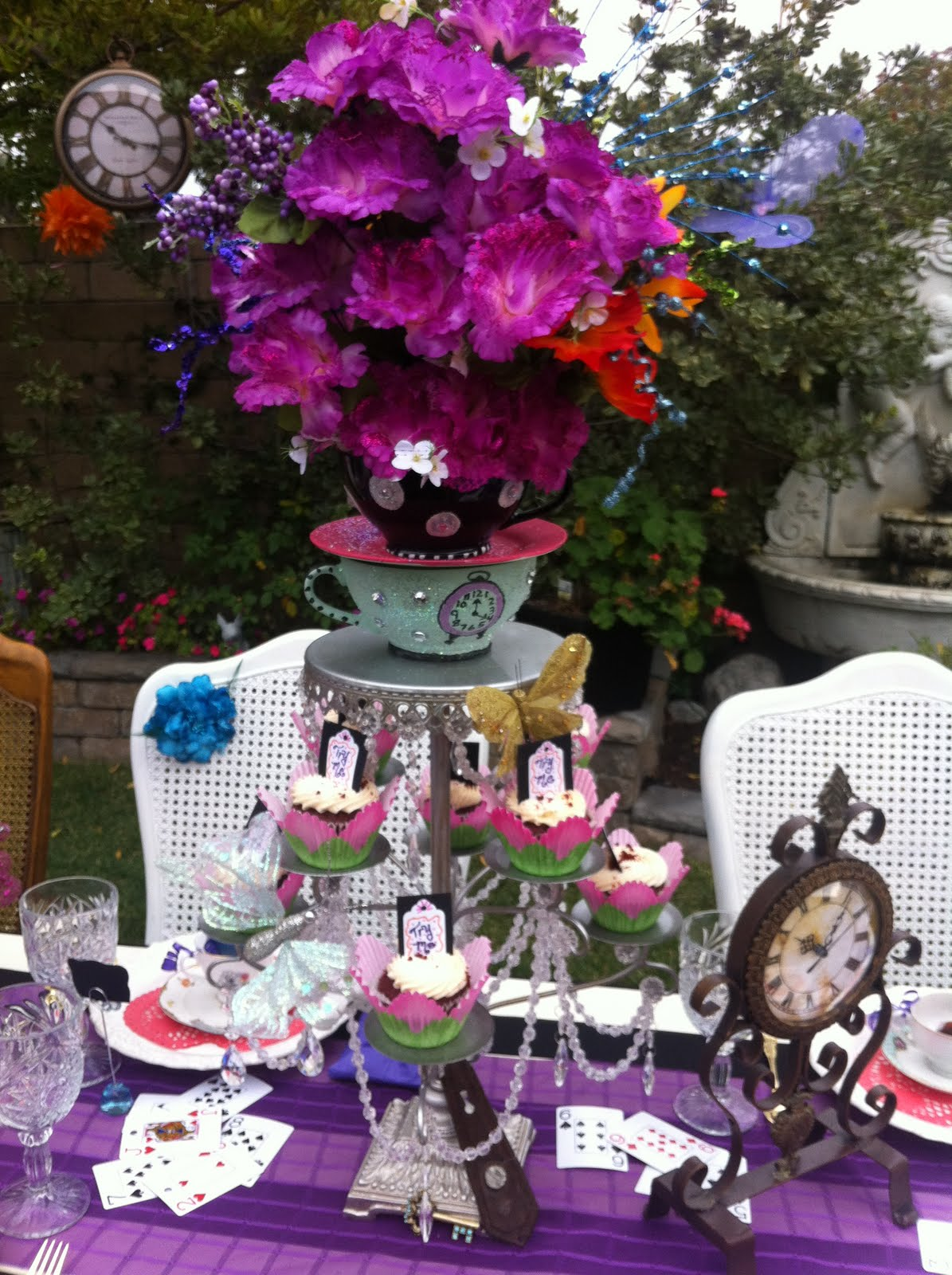I Type With a Purpose Mad Hatter Bridal Shower