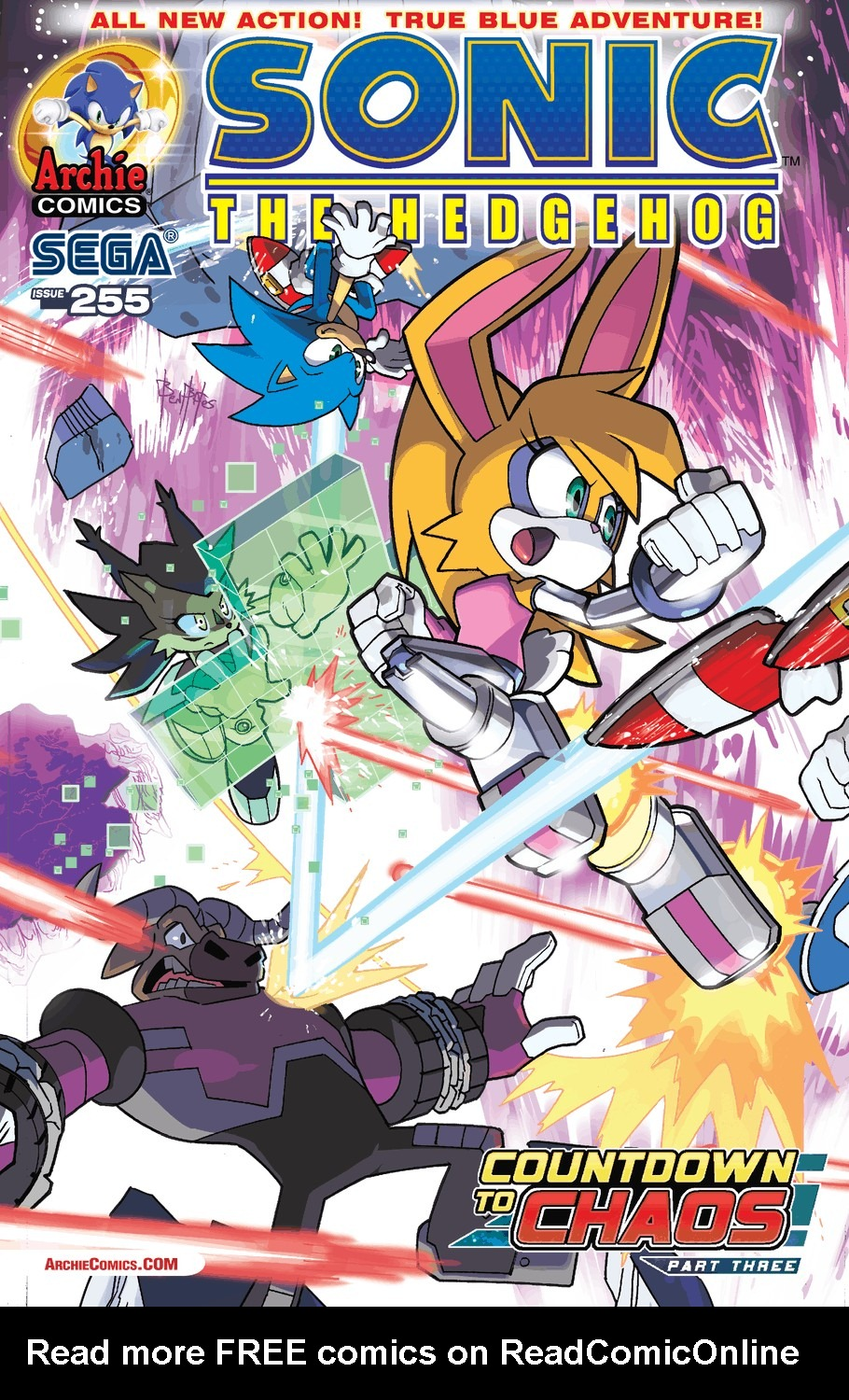 Read online Sonic The Hedgehog comic -  Issue #255 - 2