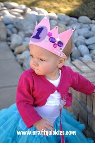 How to make a birthday crown for little kids