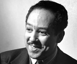 langston hughes spokesman for civil rights Born in 1902 in joplin, missouri, langston hughes grew up mainly in lawrence,   (1961) and, inspired by the civil rights movement, jericho--jim crow (1964.