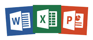 Logo Word, Excel, dan Power Point