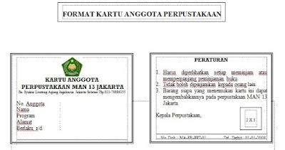 Gambar Profil Balai Layanan Perpustakaan Badan Arsip Contoh Formulir