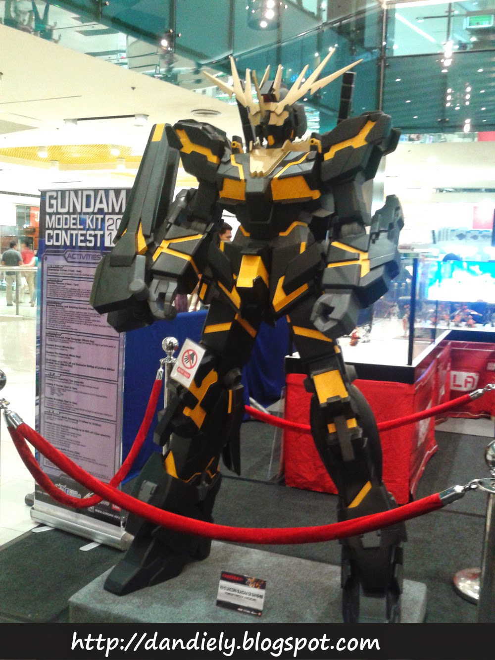 Banshee Destroy Mode - Gundam Model Kit Contest 2014 Philippines
