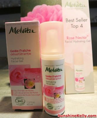 Melvita Rose Nectar Hydrating Facial Gel, Melvita Top 10 Best Sellers, Organic skincare, organic beauty care, Melvita