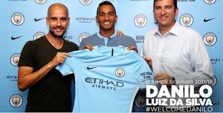 Manchester City Resmi Transfer Danilo dari Real Madrid