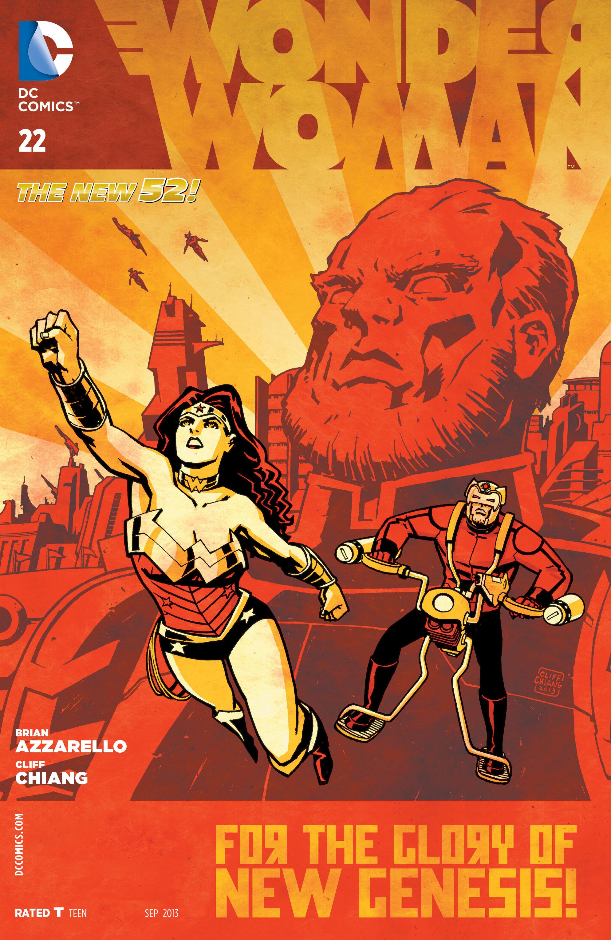 Read online Wonder Woman (2011) comic -  Issue #22 - 1