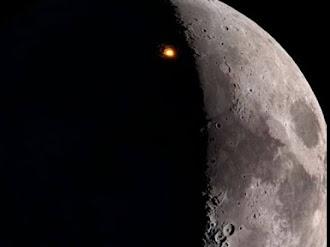 Misteriosas Luces en La Superficie de la Luna