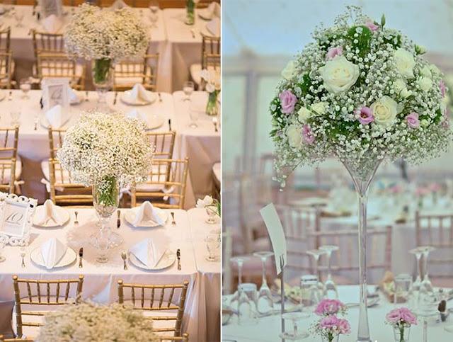 Gypsophila Wedding Table