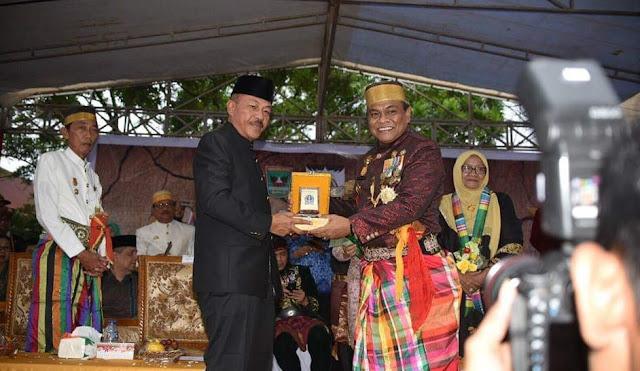 Bupati Bone Bersama Sejumlah Pejabatnya Hadiri Festival Budaya Minangkabau dan Keraton Nusantara di Padang