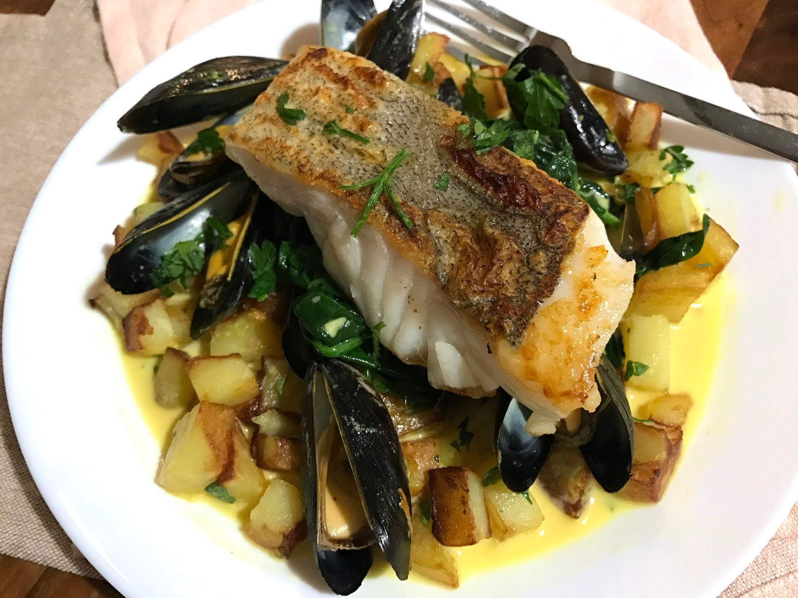 Fish for thought seafood recipe box lucy loves to eat the seafood potatoes and vegetables are superior quality to anything you can buy in the supermarkets the fish is so fresh and really does taste like forumfinder Choice Image