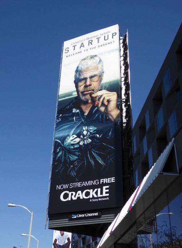 Ron Perlman StartUp season 2 billboard