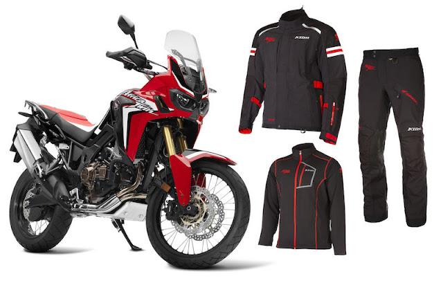 Speciální edice motocyklového oblečení Africa Twin od Klimu...