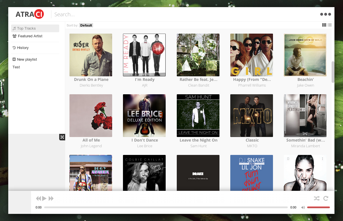 Atraci New Youtube Based Music Player Web Upd8 Ubuntu Linux Blog