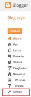 cara mengganti domain blogspot menjadi .com (custom domain)