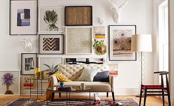 7 maneras diferentes de decorar las paredes de manera original
